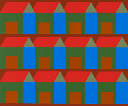 Ann Schaumburger, 'Red Ochre Houses 12', 2014