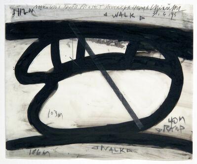 Cris Gianakos, 'Drawing/Maroussi Ramp Project, 3.6.1995', 1995