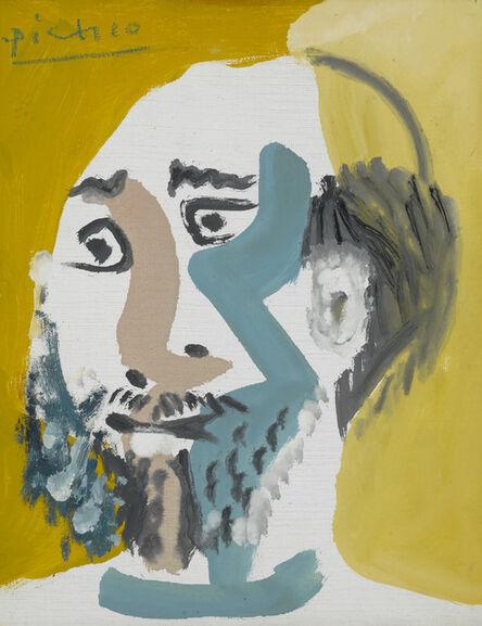 Pablo Picasso, 'Tête d'Homme Barbu V', 1965