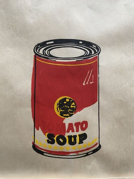 Andy Warhol, 'Campbell´s Soup Can (Tomato)', 1964