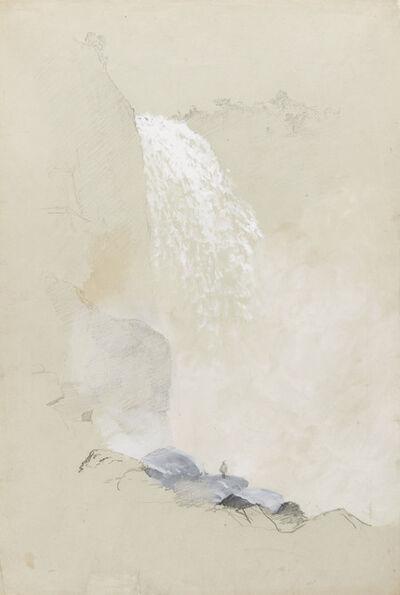 Frederic Edwin Church, 'Study of Tequendama Falls near Bogotíç, Colombia', 1853