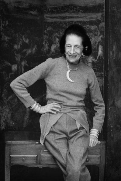 Priscilla Rattazzi, 'Diana Vreeland, New York', 1982