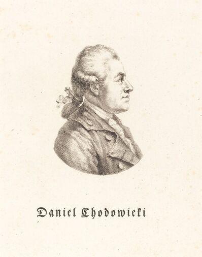 Maximilian Franck after Adrian Zingg, 'Daniel Chodowiecki', ca. 1815