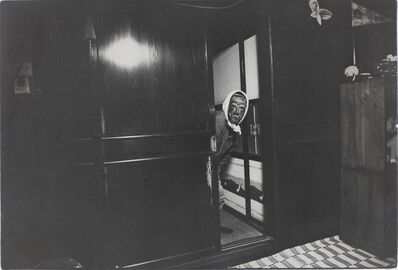 Kazuo Kitai, 'Mask, Ishimaki, Miyagi (To the Villages series)', 1974