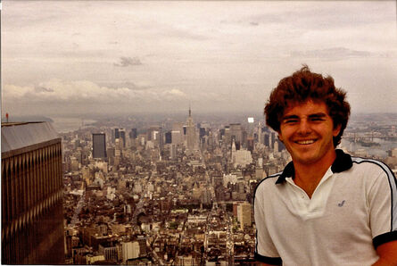 Thomas Kuijpers, 'Tourist photo from the top of one of the Twin Towers'