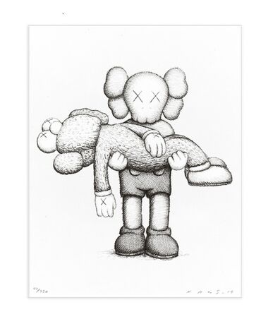 KAWS, 'Gone   Companionship in the Age of Loneliness Print   Companion and BFF', 2019
