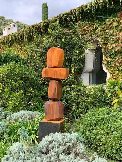 Arik Levy, 'RockFormation Tower 157 corten', 2020