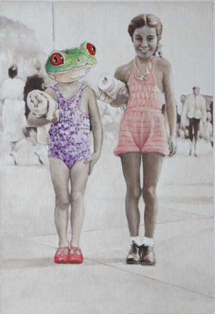 Malcolm Bucknall, 'My sister can swim like a frog', 2016