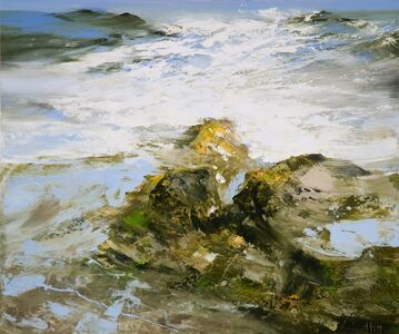 Réal Calder, 'Atlantique nord no.2', 2018