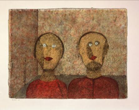 Rufino Tamayo, 'Couple', 1989