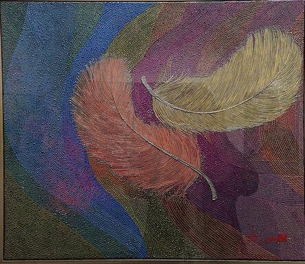 Chen Shun Chin 陳舜芝, 'Flying Feather -2', 2019
