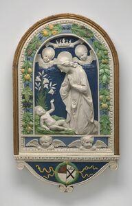 Andrea della Robbia, 'The Adoration of the Child', After 1477