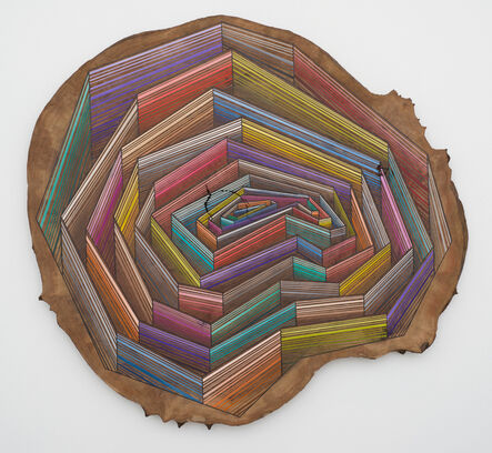Jason Middlebrook, 'Competing with Time (Strata Walls)', 2016