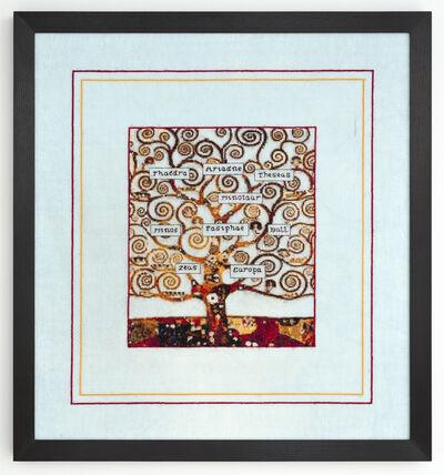 Elaine Reichek, 'Minoan Family Tree', 2014