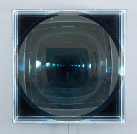 Adolf Luther, 'Spiegelobjekt mit Licht', 1974
