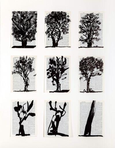 William Kentridge, 'Universal Archive (Nine Trees)', 2012