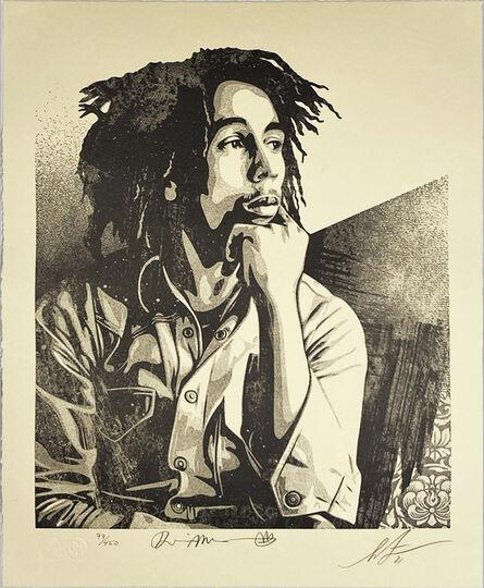 Shepard Fairey, ''Bob Marley 40th: Soul Rebel'', 2021