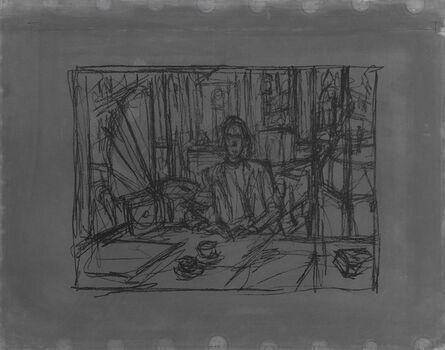 Alberto Giacometti, 'In The Cafe (Au café)', 1954