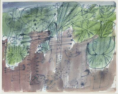 Jean Dubuffet, 'Palmeraie aux oiseaux et scorpions', 1949