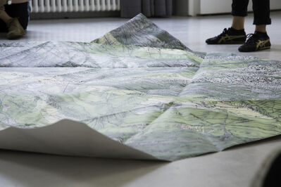 Loan Nguyen, 'Le chemin de l'eau (The water path)', 2014