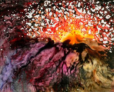 Marlene Tseng Yu, 'Volcano Explosion #20, Molten Lava Series', 1996
