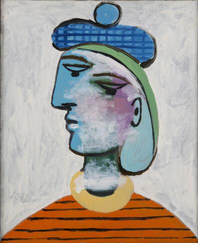Pablo Picasso, 'Marie-Thérèse au béret bleu', 1937