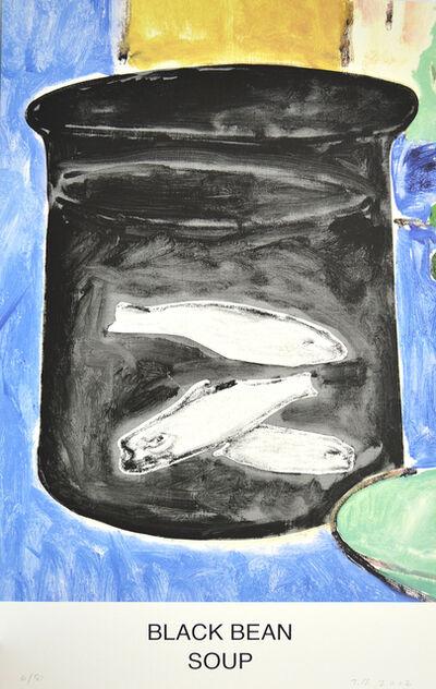John Baldessari, 'Black Bean Soup', 2012