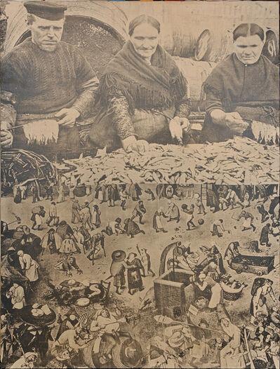 Jirí Kolár, 'Fish and People', 1951-1967