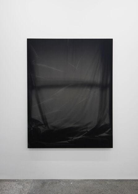 Chris Duncan, 'Bedroom Window (Black #2) 6 Month Exposure. Summer-Winter 2013', 2014