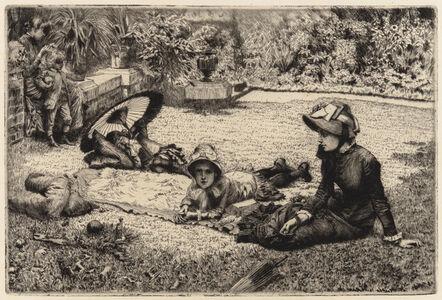 James Jacques-Joseph Tissot, 'In the Sunlight', 1881