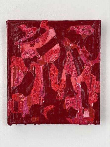 Christina Zurfluh, 'Dunkel Rot', 2020-2021