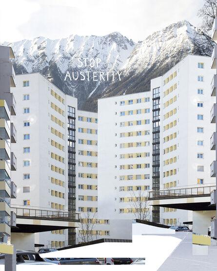 Christine S. Prantauer, 'urban texture / transfer athen-innsbruck', 2017