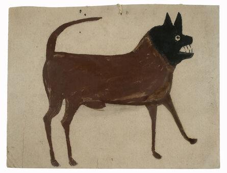 Bill Traylor, 'Dog with Black Head', 1939-1942