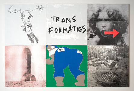 Brook Andrew, 'Uncanny I (transformaties)', 2017
