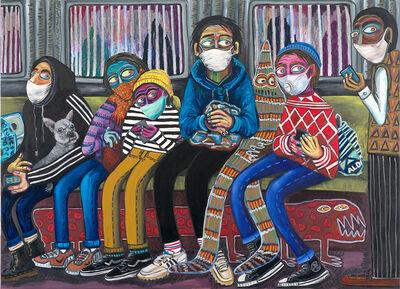 Stefanie Gutheil, 'Subway', 2020