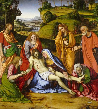Andrea Solario, 'Lamentation', ca. 1505-1507