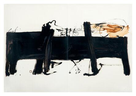 Antoni Tàpies, 'La Grande Table', 1982