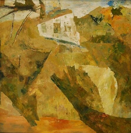 Ram Kumar, 'UNTITLED LANDSCAPE (HOUSE)', 2003