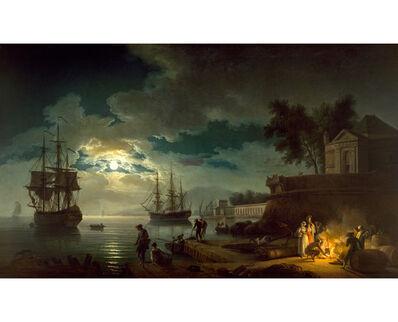 Claude-Joseph Vernet, 'Mediterranean Harbor ', 1771