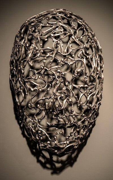 Dale Dunning, 'Snakes & Letters - repurposed metal, gothic, aluminum figurative wall sculpture', 2015