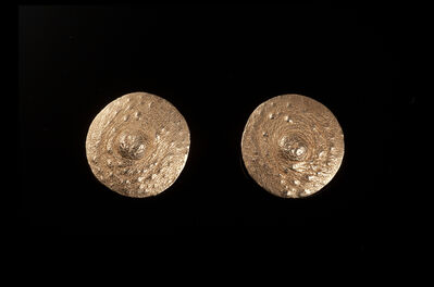 """Janine Antoni, '""""Tender Buttons"""" gold nipple brooches', 1994"""