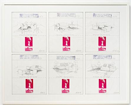 Horacio Zabala, 'Estética de la catástrofe. Refugio antiatómico', 1983