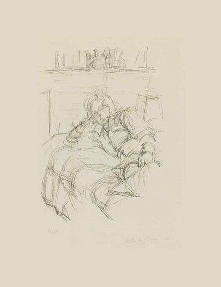 Alberto Giacometti, 'Reclining Woman', 1960
