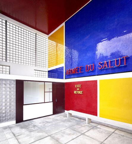 Candida Höfer, 'CitéRefuge de l'Armée du Salut [Le Corbusier©FLC/ADAGP] Paris III', 2018
