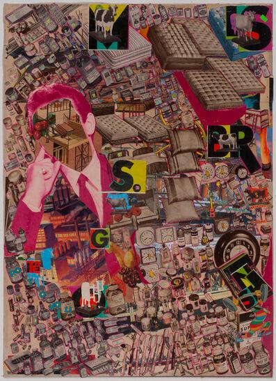 Lance Letscher, 'King Thinker', 2015