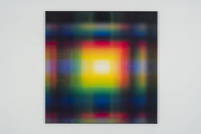Ianick Raymond, 'Peinture CMYK (90°)', 2020