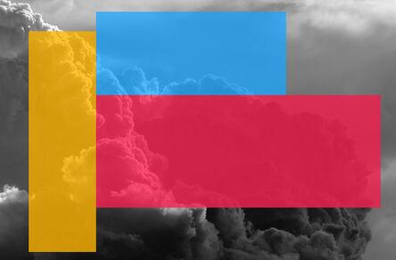 Christian Eckart, 'Color Blocked Clouds', 2019