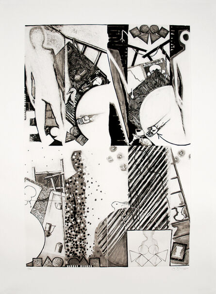 Jasper Johns, 'The Seasons (3rd state)', 1989