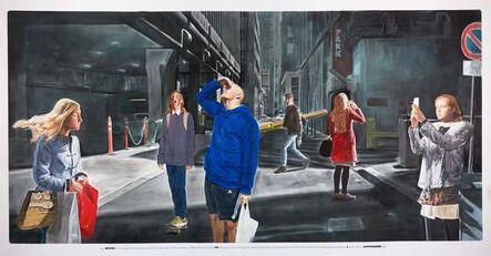 "Muntean & Rosenblum, 'Untitled (,,They stood for a long..."")', 2016"