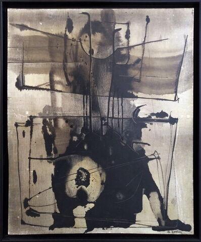 Gianni Bertini, 'Le Cygne de Sparte', 1958
